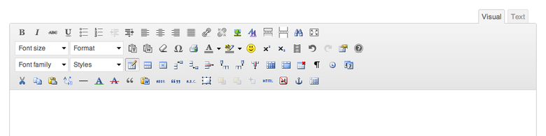 Возможности редактора для wordpress